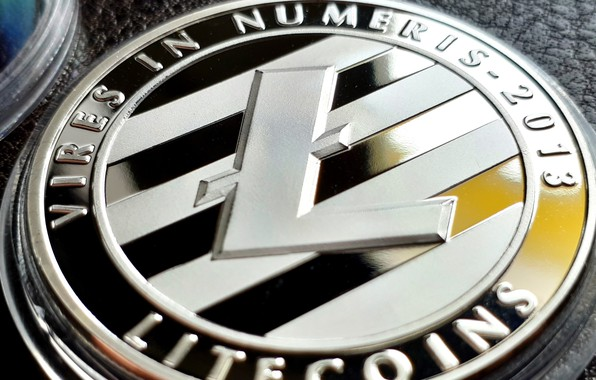 Picture blur, coin, coin, litecoin, litecoin, ltc