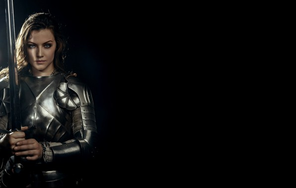 Picture Sword, Warrior, Fighter, Armor, The girl in armor, Svetlana Fedorova, Armor, The captain of the …