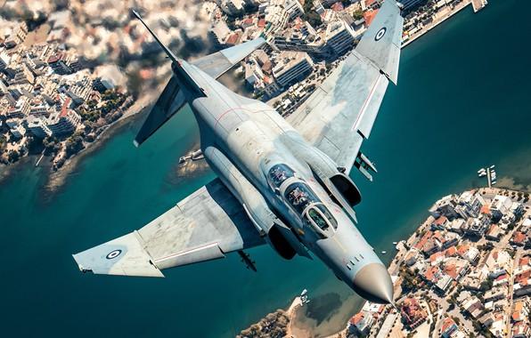 Picture Sea, Pier, Greece, Yacht, Fighter, Pilot, F-4 Phantom II, McDonnell Douglas F-4 Phantom II, Cockpit, …