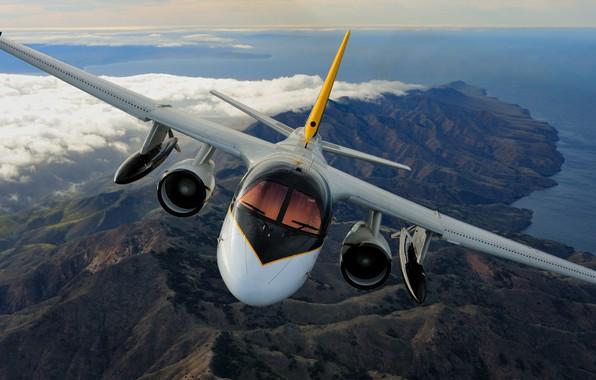 Picture Lockheed, Viking, S-3, US Navy, anti-submarine aircraft