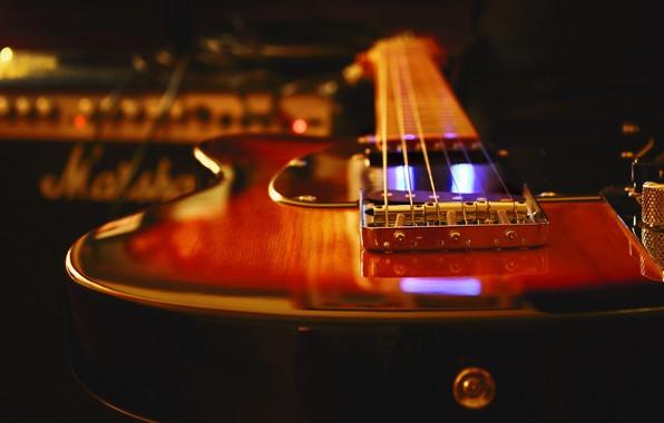 Picture guitar, tool, electric guitar, Studio