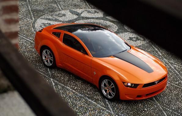 Photo wallpaper Concept, Mustang, Ford, Giugiaro