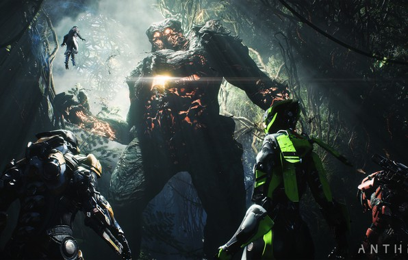 Picture monster, Electronic Arts, Anthem, gameplay, E3 2018
