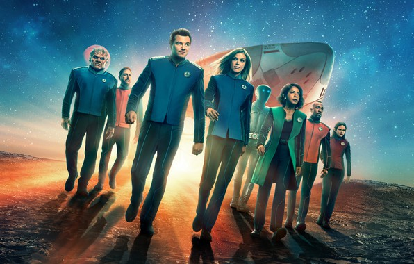 Picture look, background, the series, actors, Movies, The Orville, Orville