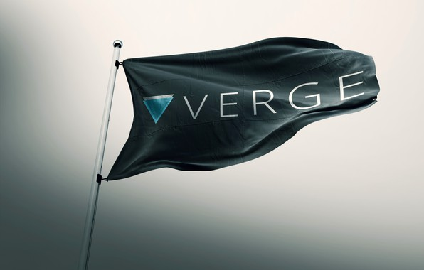 Picture flag, flag, cryptocurrency, cryptocurrency, verge, xvg