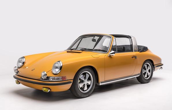 Picture Porsche, Classic, Porsche 911, 1968, Classic car, Targa, Porsche 911 S 2.0 Targa Sportomatic