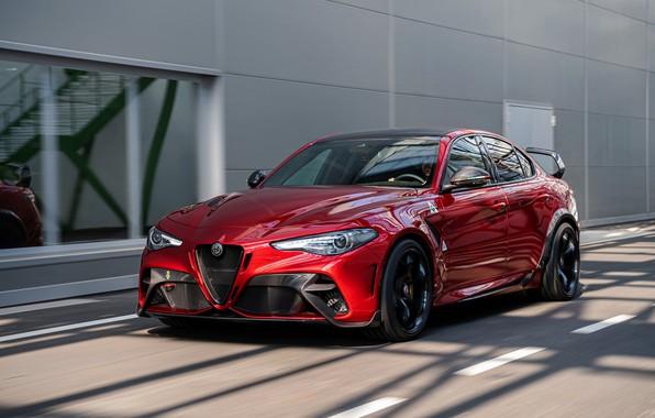 Picture Alfa Romeo, sedan, Giulia, GTAm, 2020