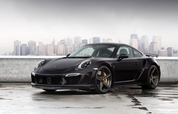 Picture 911, Porsche, Black, Carrera, Rain, VAG