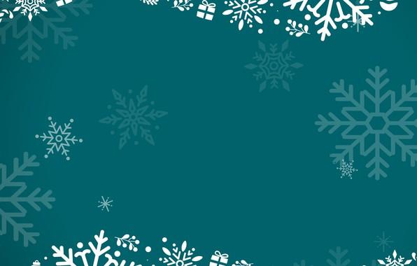 Picture snowflakes, background, pattern, ornament, decor