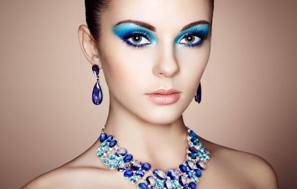 Picture look, girl, decoration, style, photo, portrait, earrings, makeup, Oleg Gekman