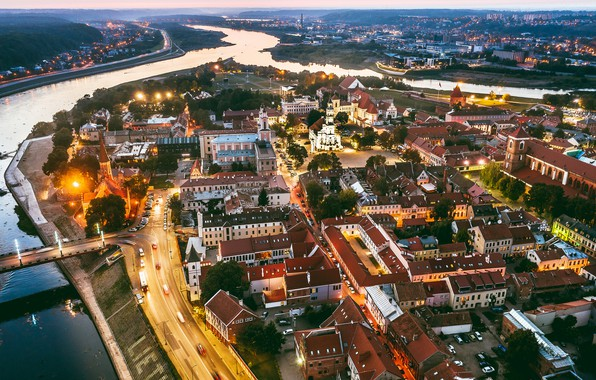 Picture night, Lithuania, Kaunas