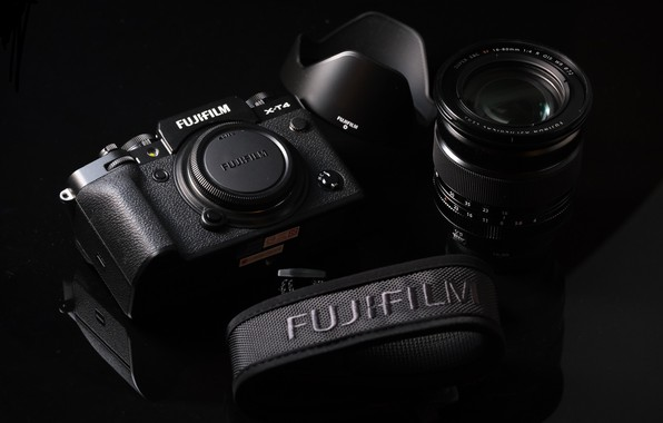 Picture the camera, lens, FUJIFILM, X-T4