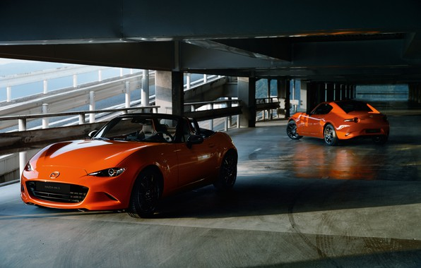 Picture machine, Mazda, Parking, MX-5, 30th Anniversary Edition, 2020, MX-5 RF