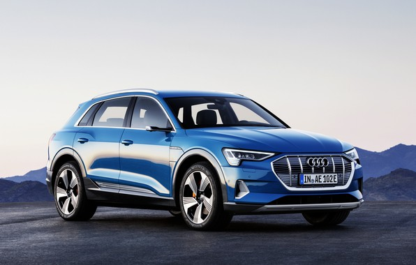 Picture audi, electric cars, economic, audi e-tron