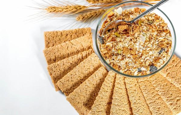 Picture muesli, oats, oatmeal