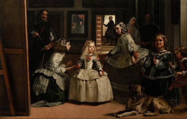 Picture Madrid, Madrid, Diego Velazquez, The Prado museum, Spanish painter, Spanish painter, oil on canvas, The …