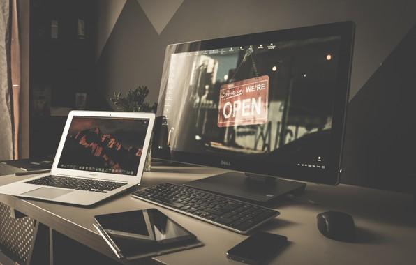 Picture Desktop, Wallpaper, Room, Computer