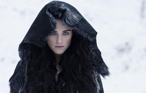 Picture look, hood, the series, hair, look, Morgana, hood, Merlin, Morgan, TV series, Merlin, Katie McGrath, …