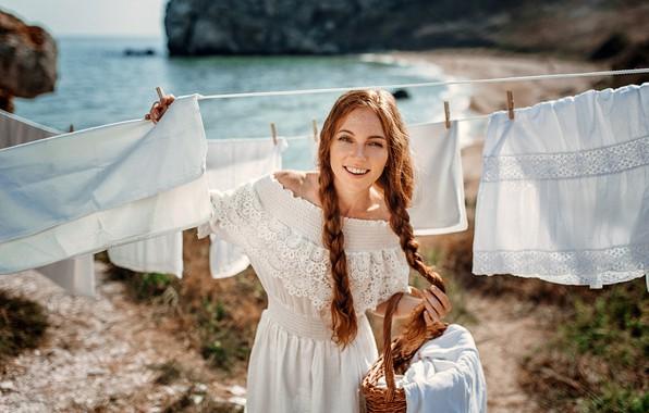 Picture smile, Girl, Oksana Butovo, Eugene Freyer
