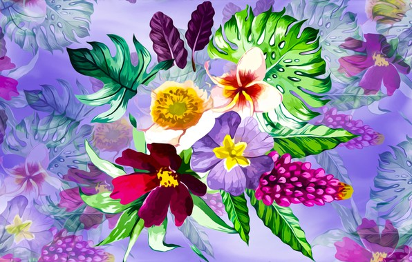 Picture Graphics, Flowers, Background
