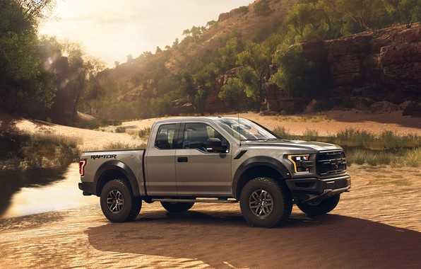 Picture car, jeep, ford, raptor, 2018, mikhail sharov
