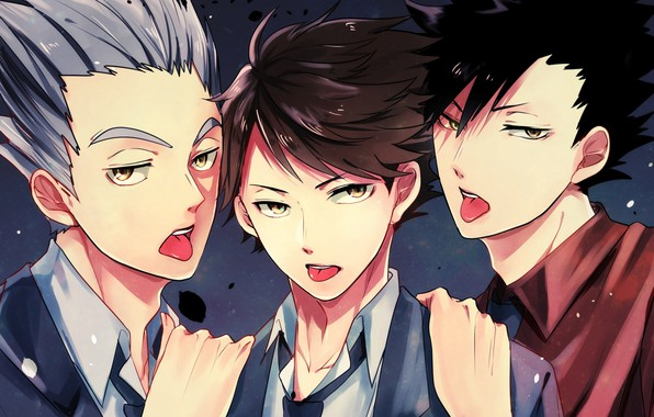 Wallpaper art, guys, volleyball, Haikyuu images for ...
