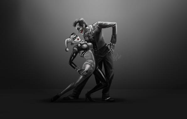Picture Figure, Harley, Art, Joker, Concept Art, Harley Quinn, Characters, DC comics, Comic Art, Bianca Fajardo, ...
