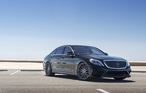 Picture Mercedes, AMG, Black, W222, S63, Bi turbo