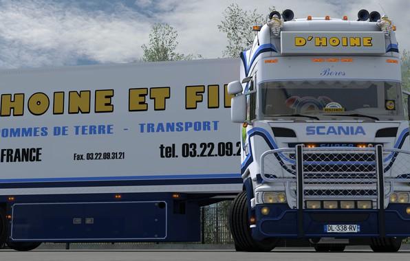 Picture tractor, Scania, Euro truck simulator 2