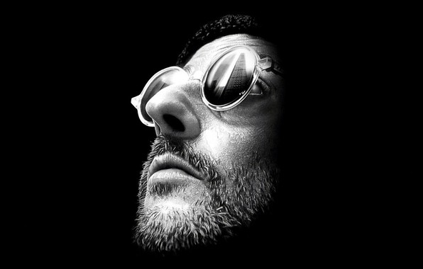 Picture face, glasses, Leon, action, character, Leon, Luc Besson