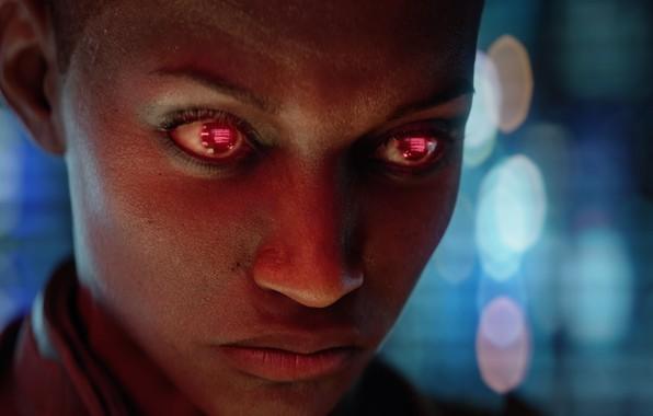 Picture girl, future, cyberpunk, video game, CD Projekt RED, Cyberpunk 2077, CD PR