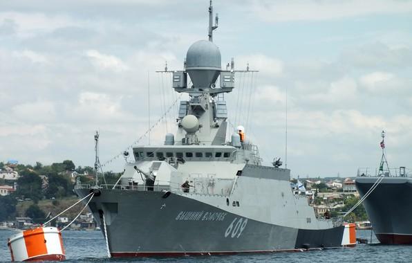 Picture ship, rocket, small, Sevastopol, Vyshniy volochëk, cipher Buyan