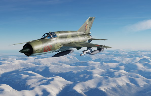 Picture OKB MiG, MiG-21bis, Frontline fighter, MiG-21bis NPA of the GDR