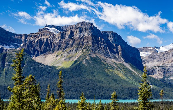 Picture rock, lake, photo, Canada, Lake, Banff, Parks