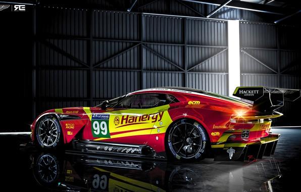 Picture Aston Martin, Auto, The Mans, Rendering, GTE, Sports car, Vulcan, Aston Martin Vulcan, Benoit Fraylon, …