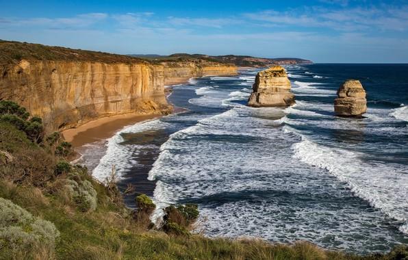 Picture sea, landscape, nature, the ocean, rocks, coast, beauty