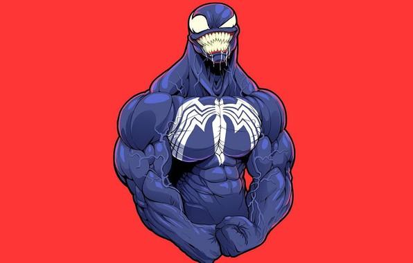 Picture background, Vienna, muscle, marvel, venom, symbiont, venom