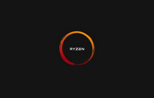 Picture background, logo, AMD, Corn, Ryazan, Ryzen, RYZEN, Ryazhenka