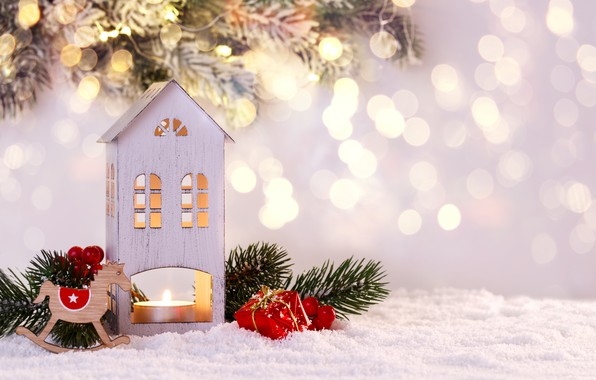 Picture winter, snow, snowflakes, New Year, Christmas, happy, Christmas, winter, snow, Merry Christmas, Xmas, decoration