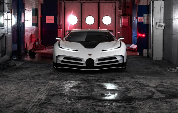 Picture machine, lights, Bugatti, Boxing, hypercar, One hundred and ten
