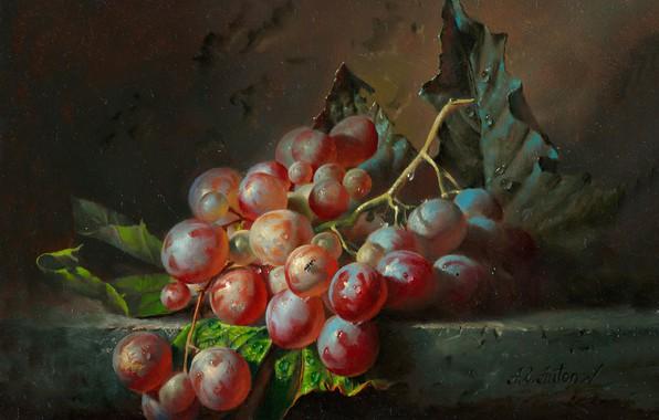 Picture oil, Alexei Antonov, «Виноград»