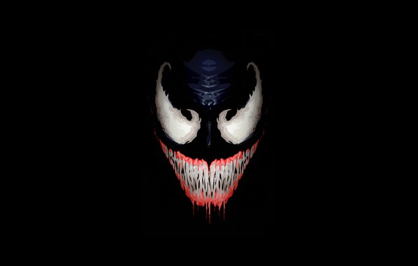 Picture Smile, Face, Teeth, Fangs, Art, Comics, Illustration, MARVEL, Venom, Characters, Comic Art, Ben Laverock, by ...
