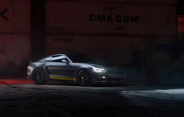 Picture lights, Ford, Supercharged, Mustang GT, 700hp, 2019, by Dennis Ardel
