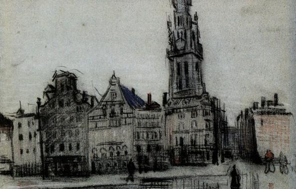 Picture people, Vincent van Gogh, The Grote Markt