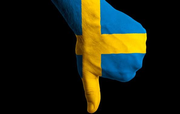 Picture black, hair, hand, flag, finger, Sweden, body painting, fon, hair, flag, hand, sweden, finger, bodyart, …