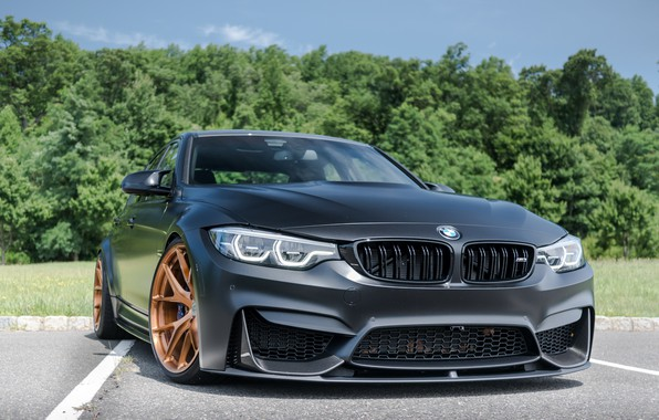 Picture BMW, Predator, Black, F80, Sight, LED, M3