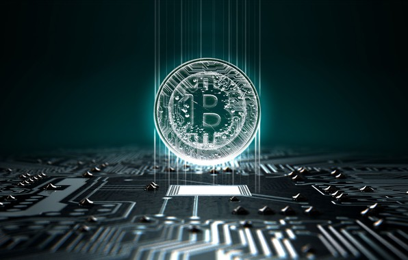 Picture logo, currency, coin, money, currency, Bitcoin