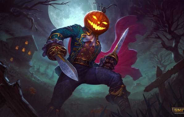 Picture Halloween, loki, spooky, smite