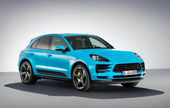 Picture Porsche, 2018, crossover, Macan, Macan S
