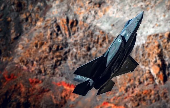 Picture Cobra, the plane, Lightning, F-35, Lockheed Martin
